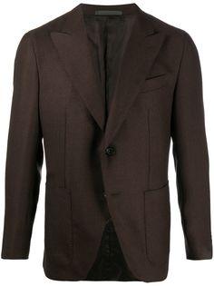 Caruso однобортный пиджак