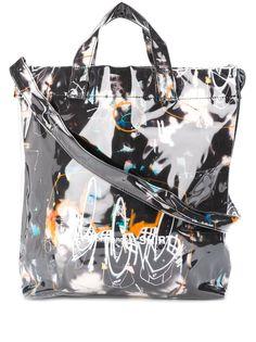 Comme Des Garçons Shirt сумка-тоут с принтом граффити