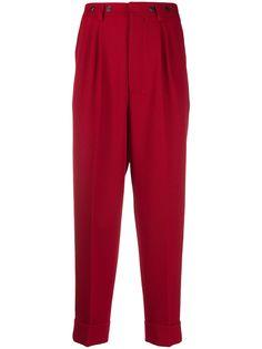 AMI зауженные брюки со складками