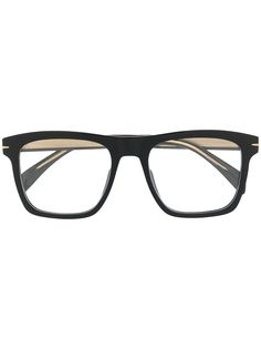 DAVID BECKHAM EYEWEAR очки в квадратной оправе