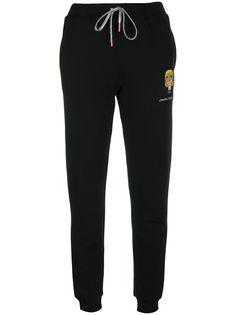 Chiara Ferragni спортивные брюки с вышивкой