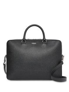 Burberry фактурный портфель