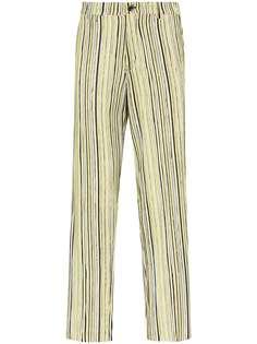 Tokyo James полосатые брюки из коллаборации с Homecoming