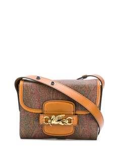 Etro мини-сумка через плечо с принтом пейсли