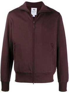 Y-3 спортивная куртка CL с высоким воротником