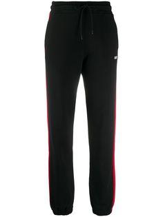 MSGM зауженные спортивные брюки с лампасами