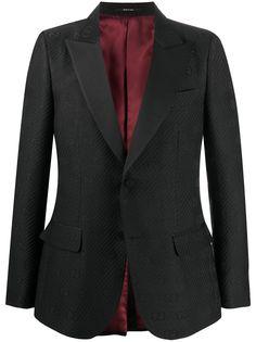 Gucci пиджак с монограммой