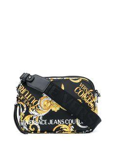 Versace Jeans Couture сумка на плечо с принтом Baroque и логотипом