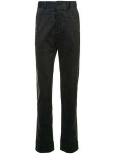 Cerruti 1881 вельветовые брюки прямого кроя