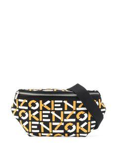 Kenzo поясная сумка с логотипом