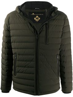 Moose Knuckles стеганая куртка на молнии
