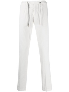 Eleventy вельветовые брюки с кулиской