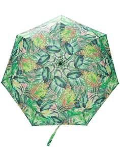 White Mountaineering зонт с принтом
