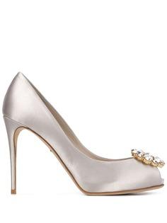 Dolce & Gabbana декорированные туфли на высоком каблуке