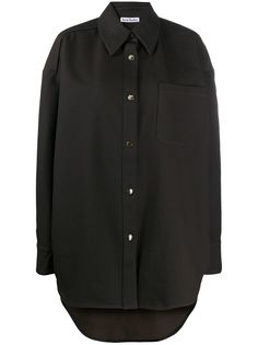 Acne Studios рубашка оверсайз на кнопках