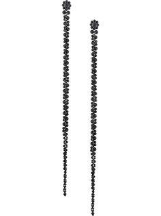 Simone Rocha серьги-подвески с бусинами