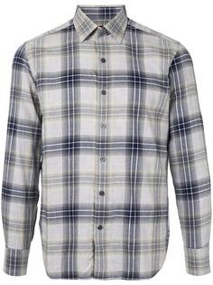Durban клетчатая рубашка с длинными рукавами
