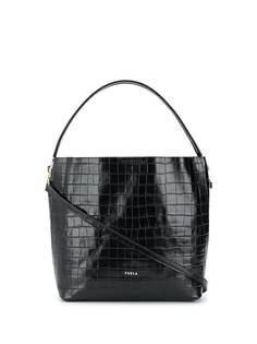 Furla сумка-тоут 1927 с тиснением под кожу крокодила