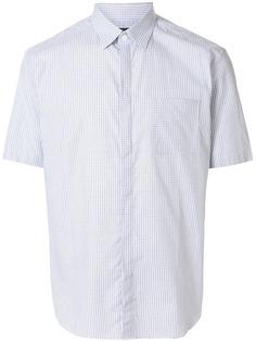 Durban клетчатая рубашка с короткими рукавами