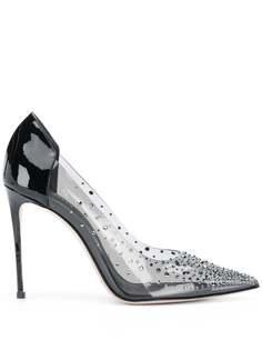 Le Silla декорированные туфли-лодочки на шпильке