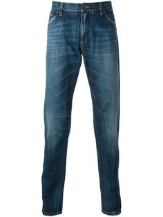 Dolce & Gabbana зауженные джинсы