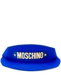 Moschino сумка на плечо в форме бейсболки