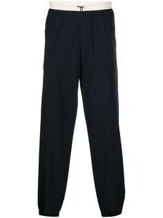 Paul Smith прямые брюки с кулиской