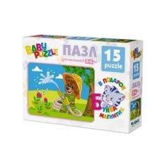 Пазл Origami Разные животные (03437), 15 дет.