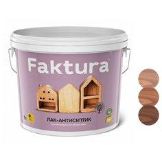 Лак Faktura Лак-антисептик полиакриловый золотой дуб 9 л