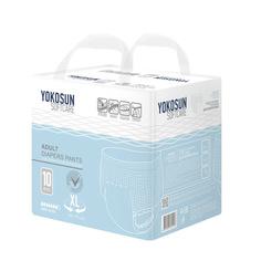 Подгузники-трусики для взрослых YokoSun XL 10 шт