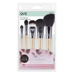 Профессиональный набор кистей для макияжа QVS 5 шт