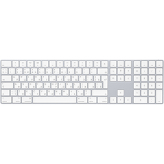 Клавиатура Apple Magic Keyboard with Numeric Keypad Russian серебристый