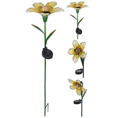 Светильник садовый Koopman Garden цветок 18х82 см