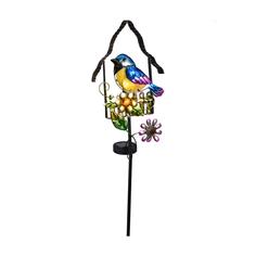 Светильник садовый Koopman Garden Птичка 18x8x66 см