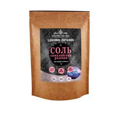 Соль Продукты XXII века розовая мелкий помол 200 г