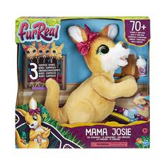 Интерактивная игрушка Hasbro FurReal Friends Кенгуру Джози и ее малыши Mattel