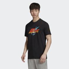 Купить Черные мужские футболки Adidas в интернет-магазине Lookbuck