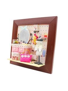 """Румбокс DIY MINIHOUSE (HOBBY DAY) Настенная рамка-открытка """"Красота спасёт мир!"""" 13603"""