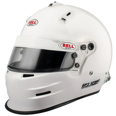 Шлем для автоспорта Bell 1417004 закрытый GP3 SPORT FIA8859 белый р XLG (61-62)