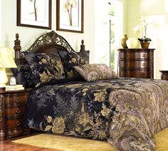Комплект постельного белья 2-спальный, поплин (Музей, коричневый) Ивановотекстиль
