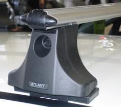 Багажник на крышу mazda 6, sd (2002-2007) (аэродинам профиль дуги) (алюмин) 30.8108 атлант Atlant
