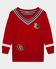 Красный джемпер Gulliver размер 104*56*51 22002GMC3101