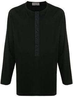 Yohji Yamamoto футболка с длинными рукавами