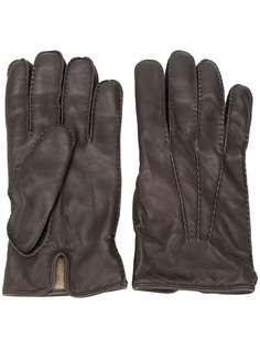 Ermenegildo Zegna однотонные перчатки