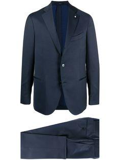 Lardini костюм с однобортным пиджаком