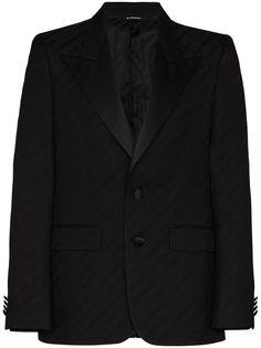 Givenchy пиджак с атласными лацканами