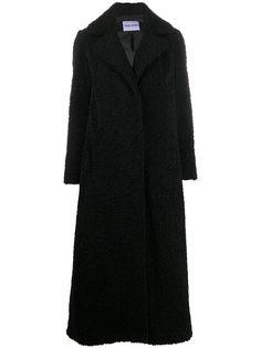 STAND STUDIO фактурное пальто оверсайз