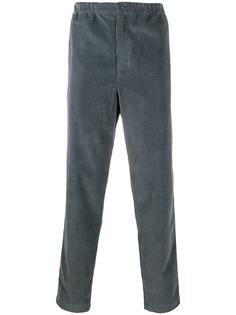 Kenzo вельветовые брюки прямого кроя