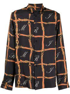 AMIRI рубашка с длинными рукавами и принтом