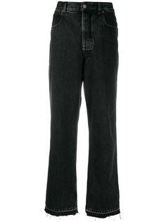 Golden Goose широкие джинсы с необработанными краями